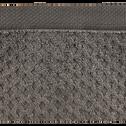 Drap de bain en coton 100x150cm gris restanque-ETEL