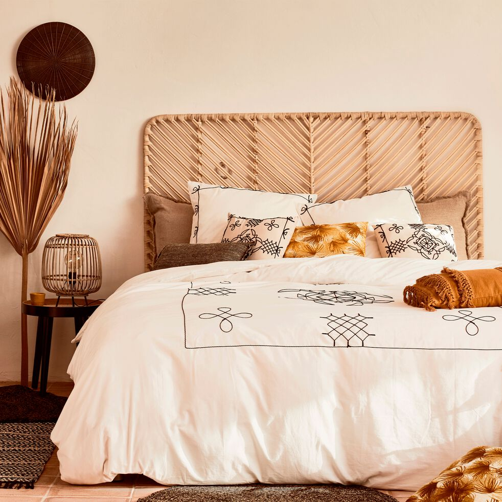 Tête de lit en rotin - 150cm-ARTEMIS