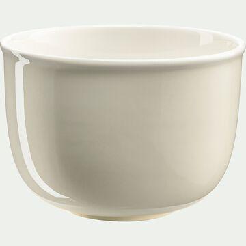 Saladier en porcelaine - beige roucas D19cm-CAFI