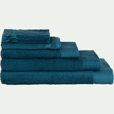 Linge de toilette bleu figuerolles-AZUR