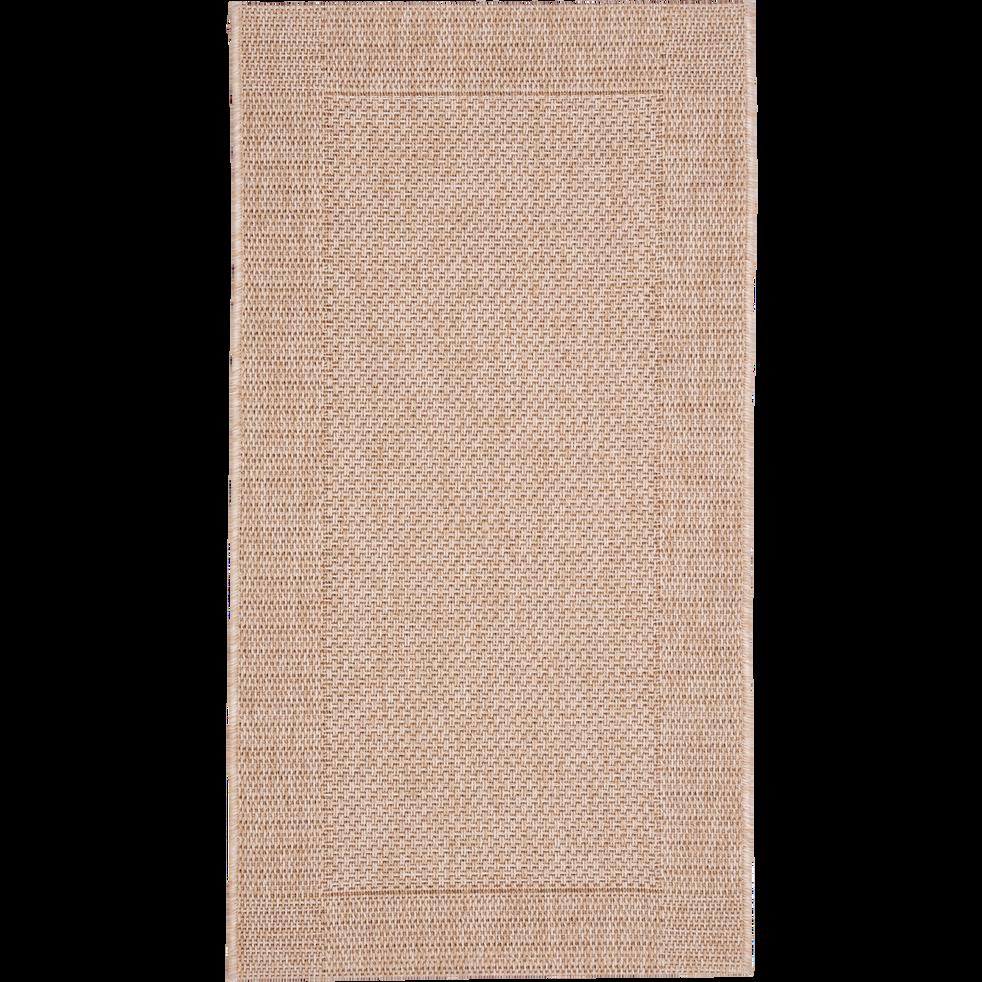 Tapis intérieur et extérieur miel 60x110 cm-KELLY