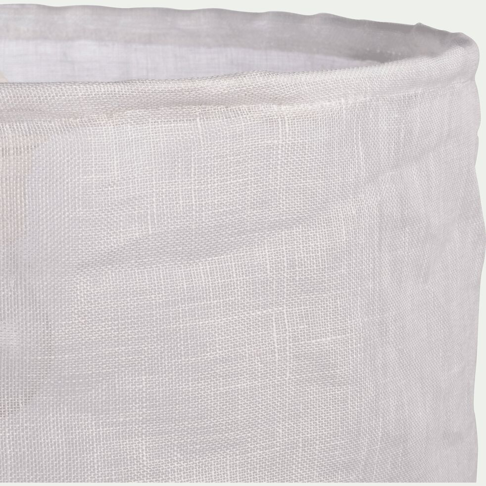 Suspension en lin blanc D35cm-ORMES