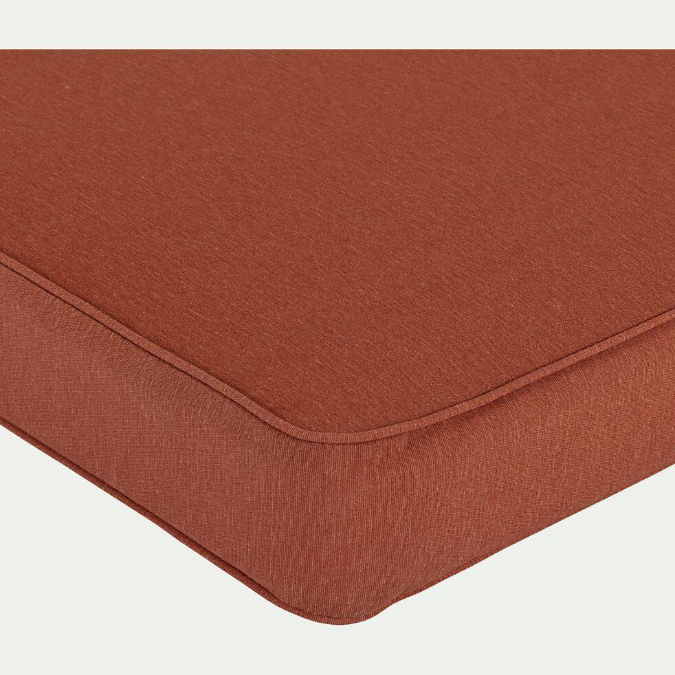Coussin pour palette en tissu - marron rustrel 120x80cm-IRUN