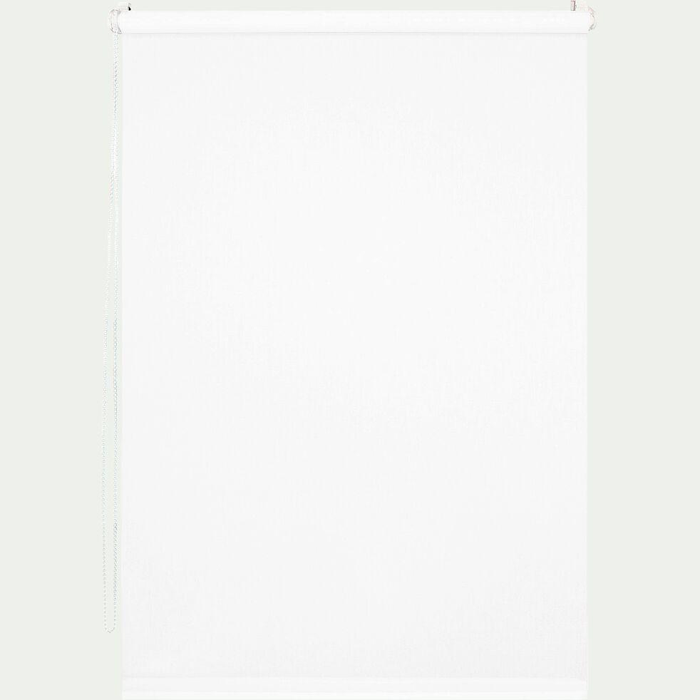 Store enrouleur tamisant blanc 41x170cm-EASY TAM