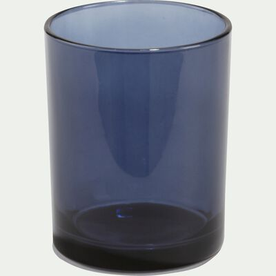 Gobelet en verre bleu myrte-LILAS