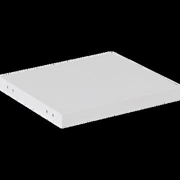 Ensemble de 6 tablettes pour bibliothèque L37.5 cm-Lorena