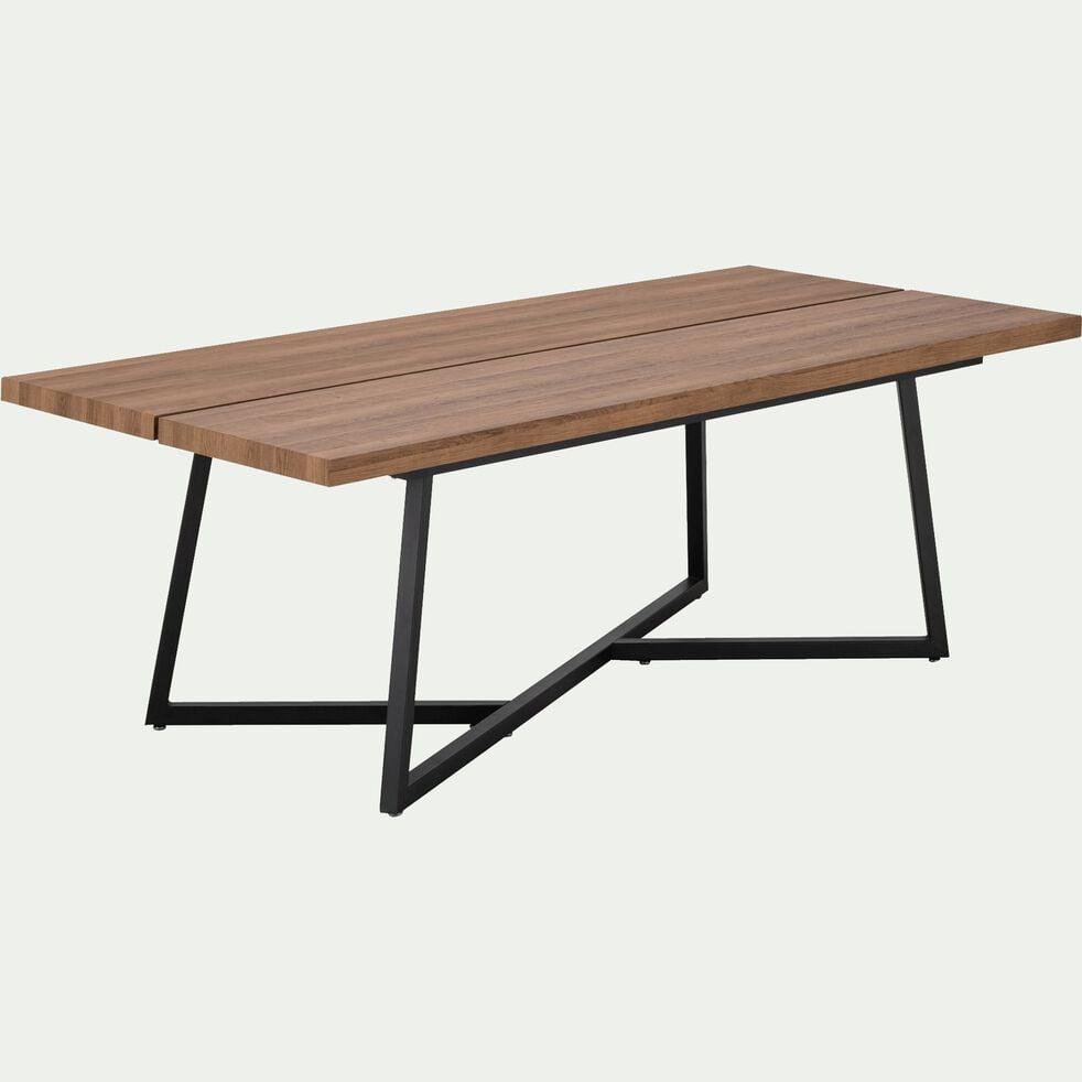 Table de repas rectangulaire piètement croisé - 10 places-TANIA