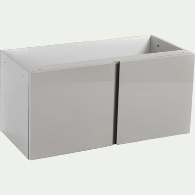 Bloc de 2 portes grises-Lorena
