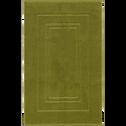 Tapis de bain en coton 50x80cm vert garrigue-AZUR