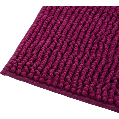 Tapis de bain 50x80cm violet prune-PICO