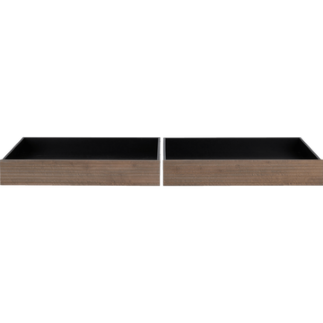 2 tiroirs à lit en pin-CRUZ