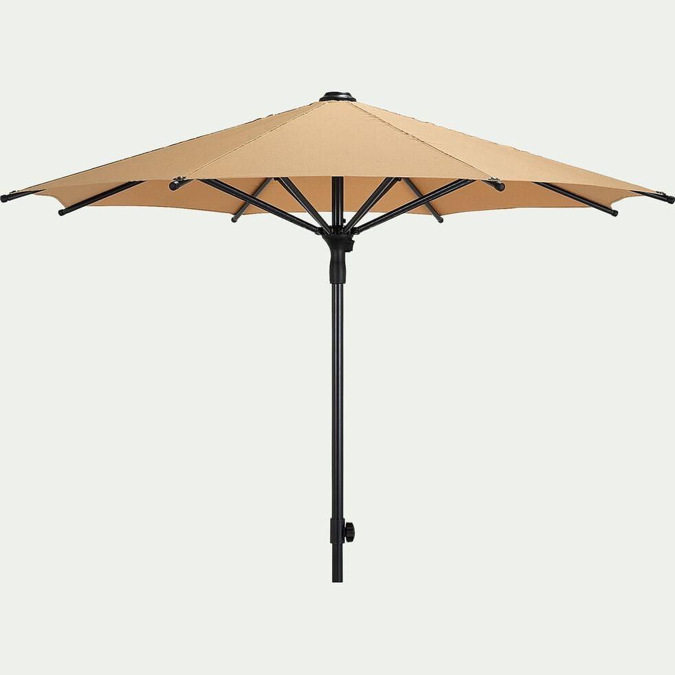 Parasol droit - jaune argan D210cm-Calado