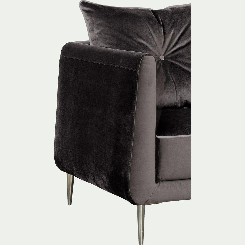 Fauteuil en tissu - noir calabrun-ASTELLO