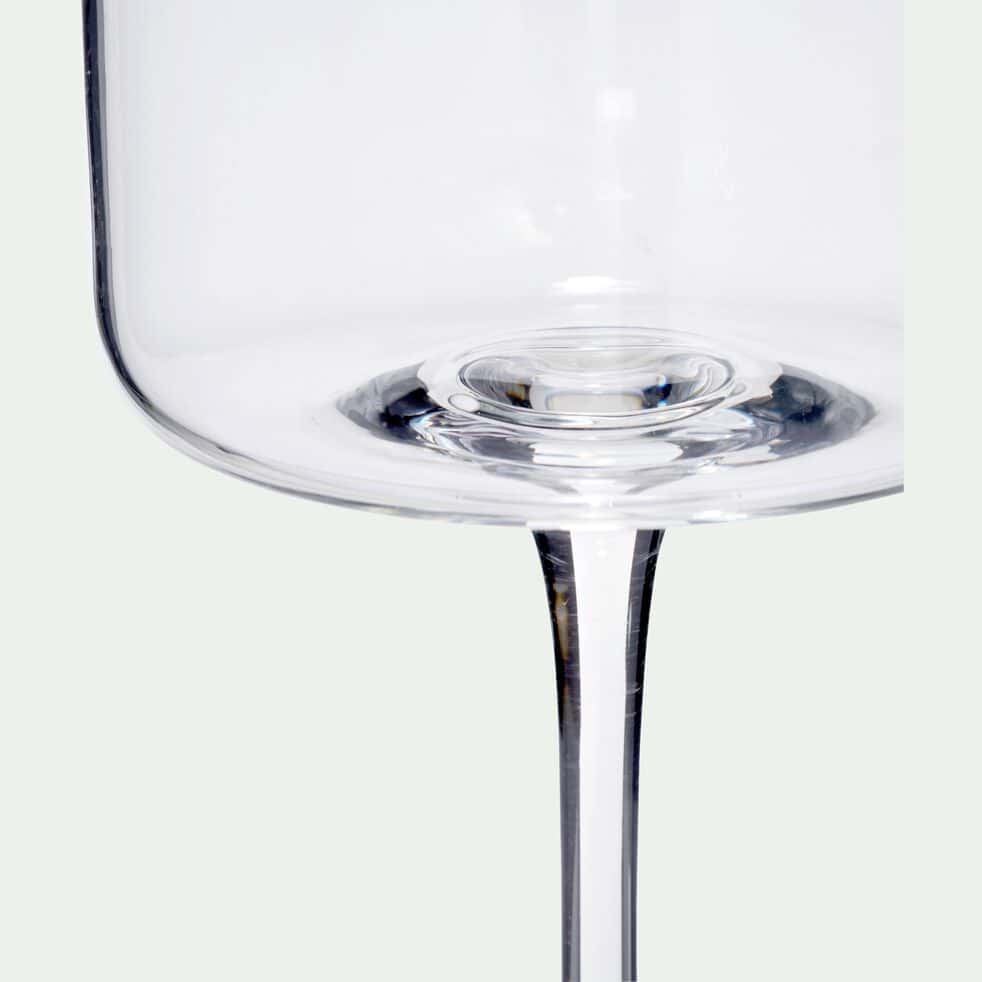 Verre à eau en verre transparent 42cl-CELLA
