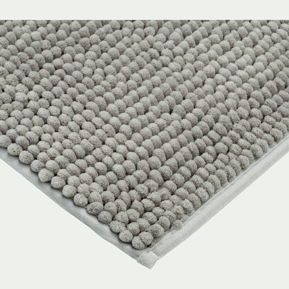Tapis de bain chenille en polyester - vert olivier 50x80cm-PICUS