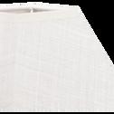Abat-jour carré beige roucas-MISTRAL