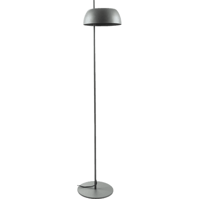 Lampadaire en métal gris restanque H146,5cm-LOLLY