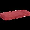 Serviette invité en coton 30x50cm rouge arbouse-AZUR