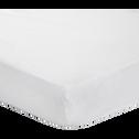 Protège-matelas coton traité Aegis 90x200cm bonnet 30cm-Hewa