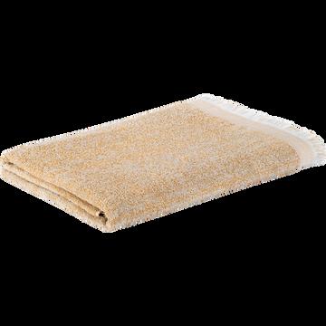 Drap de bain en coton 100x150cm beige nèfle-HANOI