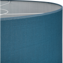 suspension cylindrique en tissu bleu figuerolles-MISTRAL