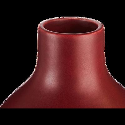 Vase en céramique rouge H30cm-HYDRIE