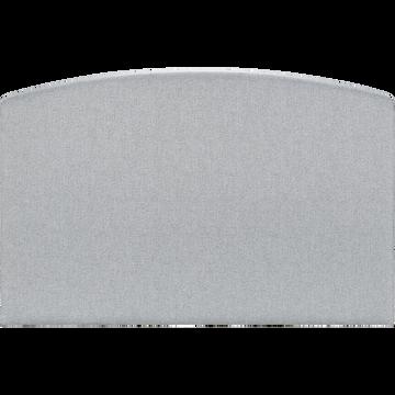 Tête de lit galbée 110x170cm gris clair-CORTIOU