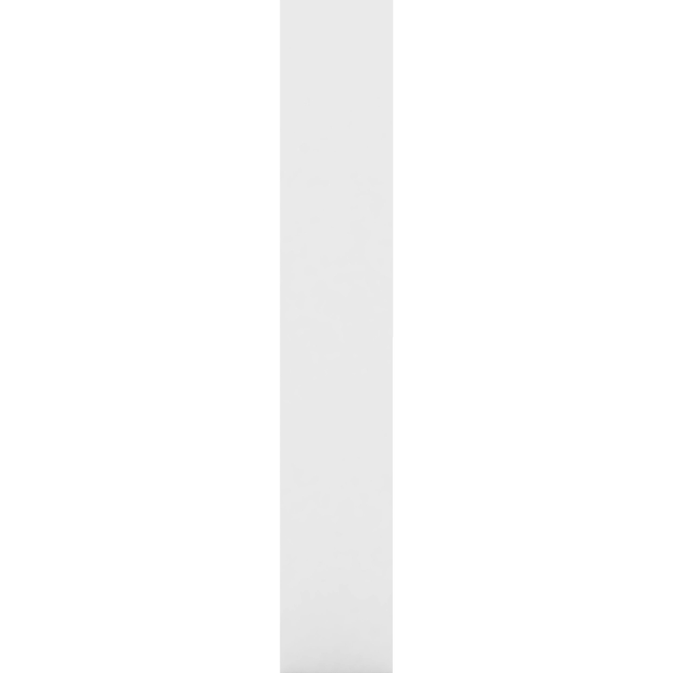 Montant de séparation blanc deux hauteurs pour bibliothèque h206cm-LORENA