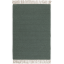Tapis en laine vert cèdre - plusieurs tailles-ULISSE