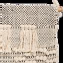 Macrame en coton ecru 70x40cm-JALA