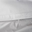 Drap plat en coton Gris borie 180x300cm-CALANQUES