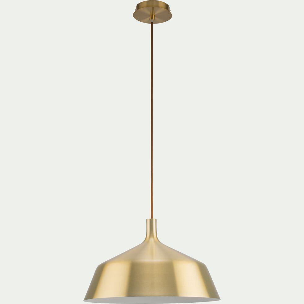 Suspension en aluminium doré D35cm-BOWI