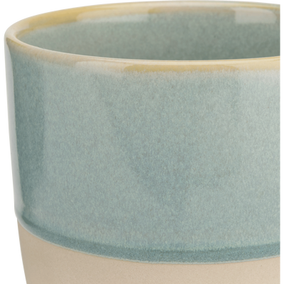 Mug en grès bleu clair 25cl-SANTAL