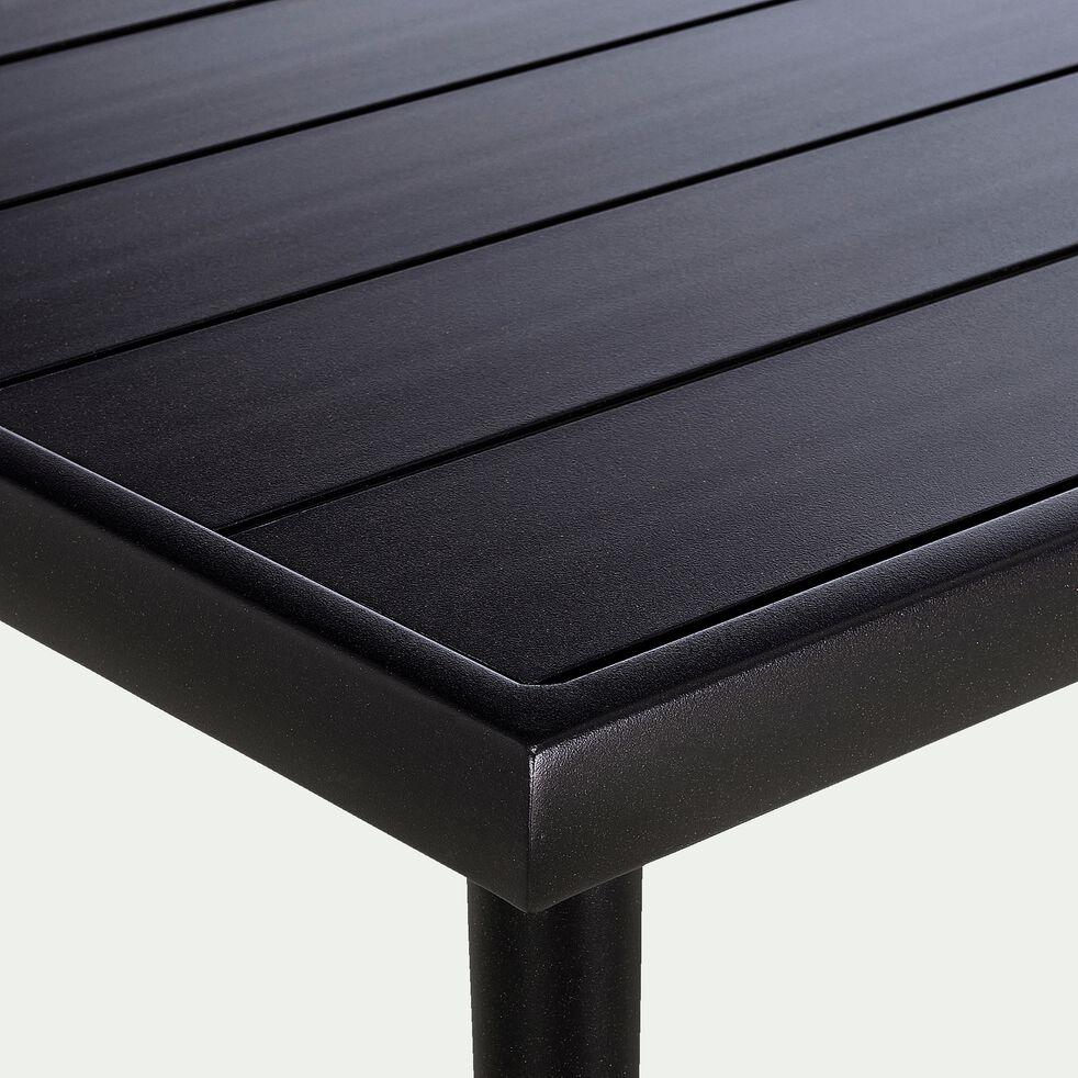 Table basse de jardin en aluminium - gris-KONYA