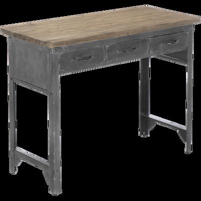 Bureaux - droit et bureau d\'angle en bois pour la chambre & salon ...