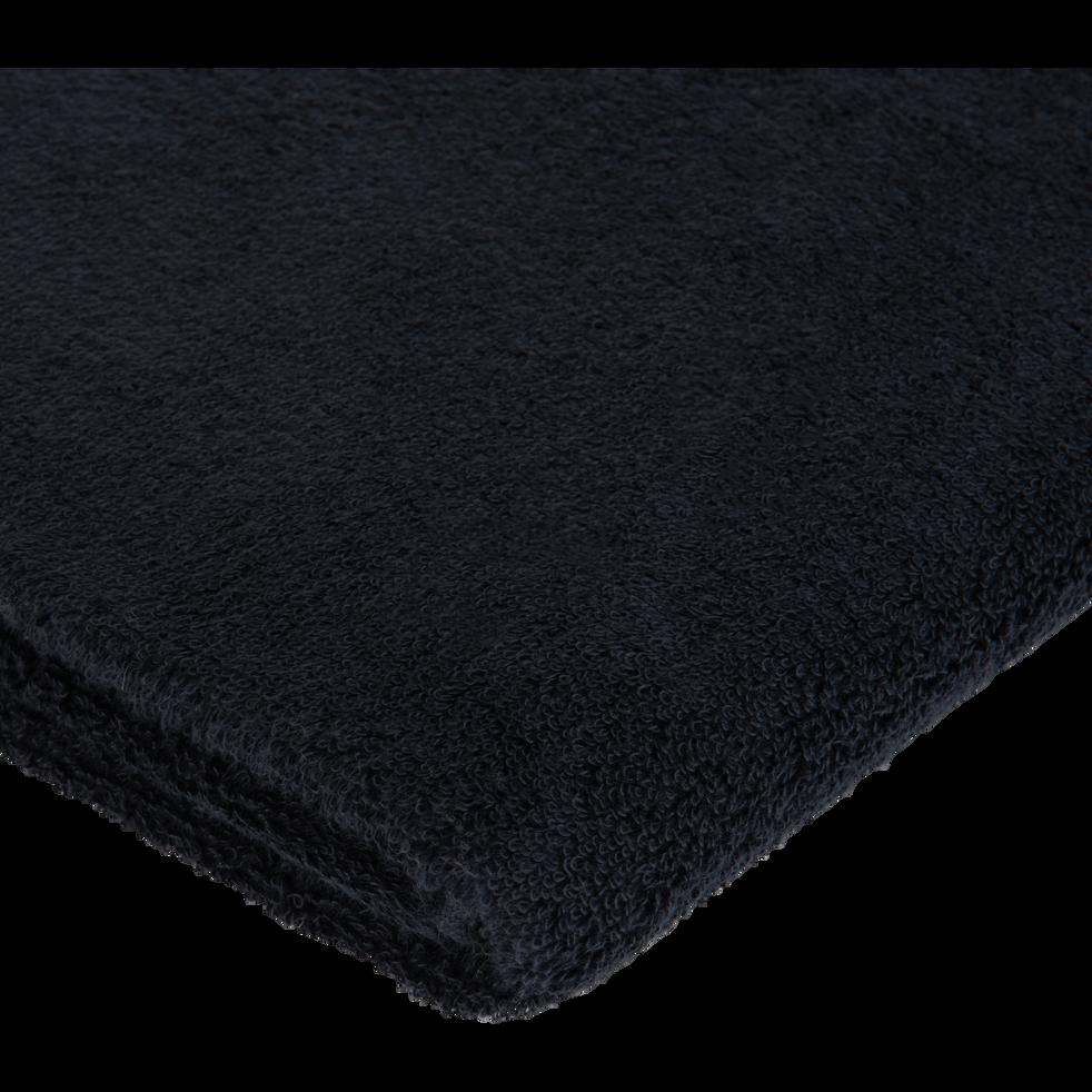 Drap de bain en coton 100x150cm gris calabrun-AZUR