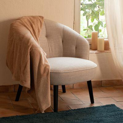 Fauteuil en tissu sunday beige roucas-MARCELLIN
