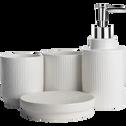 Porte-savon blanc ventoux-Ghibo