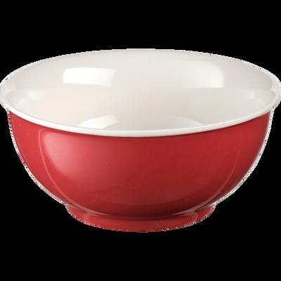 Bol en porcelaine rouge arbouse D14,4cm-CAFI
