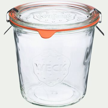 Barquette de 4 bocaux en verre forme haute - 290ml-WECK