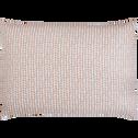 Lot de 2 taies oreiller 50x70 cm Beige-PISTOU