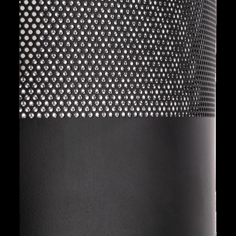 Lampadaire en métal noir H148cm-CLOTILDE