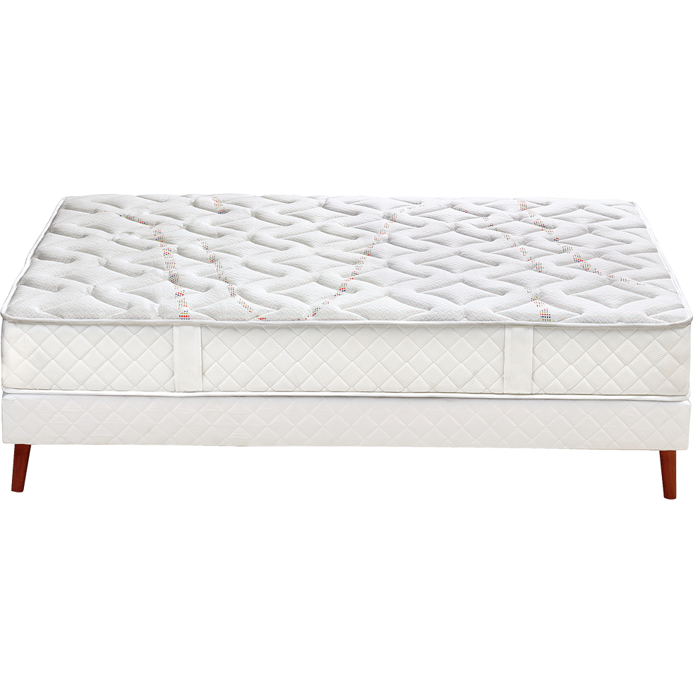 matelas ressorts ensach s merinos 26 cm 140x190 cm. Black Bedroom Furniture Sets. Home Design Ideas