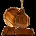 Coupelle ronde en acacia D20-ESTEVE