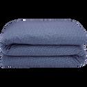 Housse de couette 260x240cm bleu figuerolles-SEME