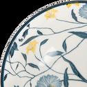 Coupelle en grès blanc D11,5cm-ASMARA