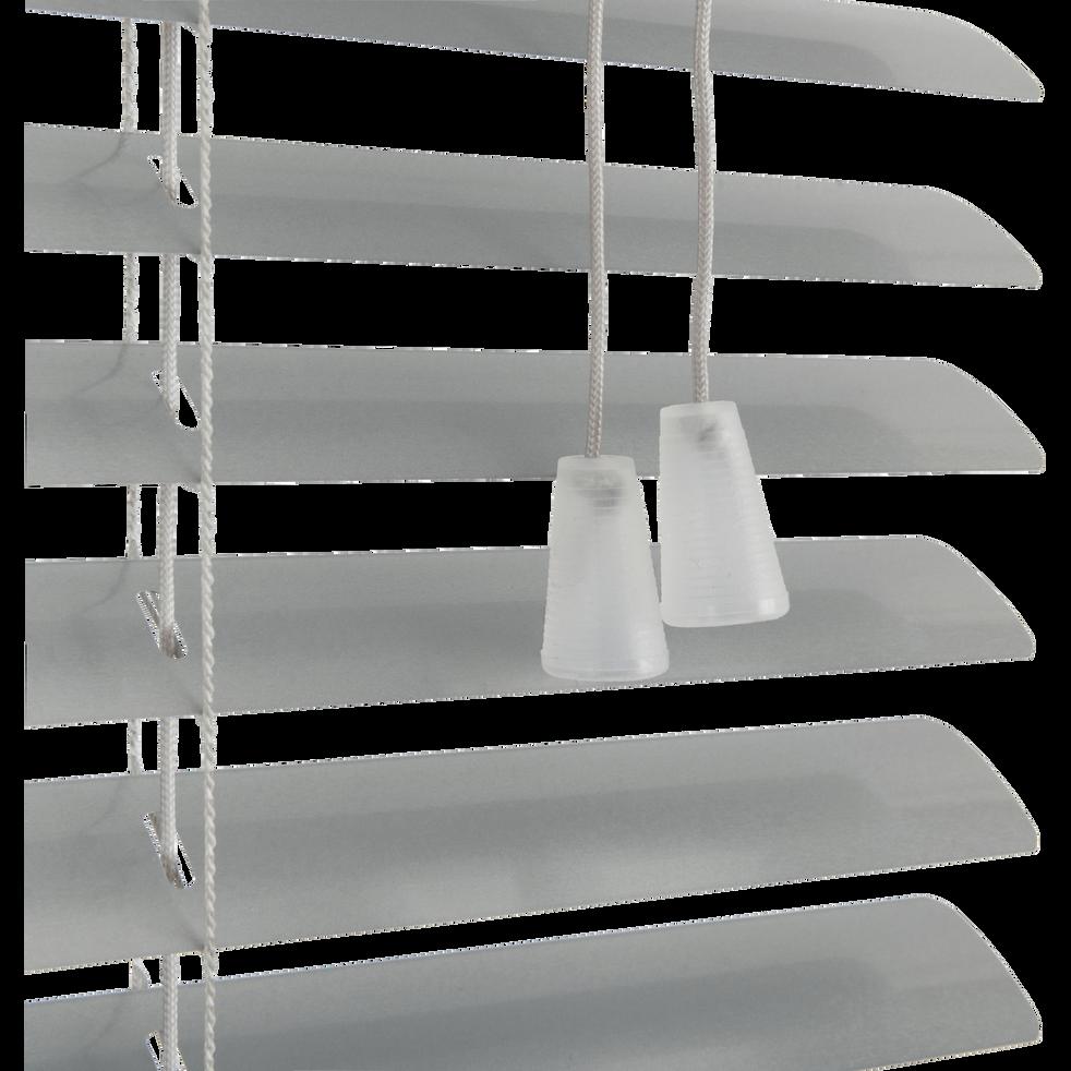 Store vénitien en aluminium gris 42x150cm-EASY VEN