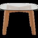 Table de repas en verre - 4 places-ZEPPLIN
