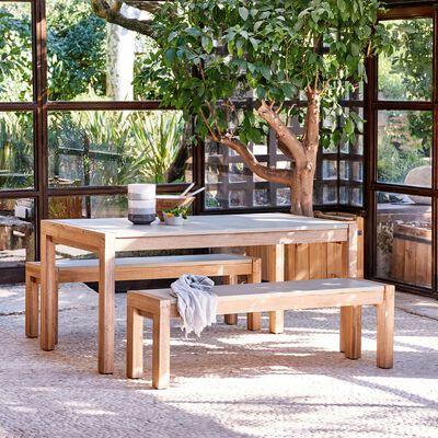 Tables et chaises de jardin - bois, alu ou métal - black ...