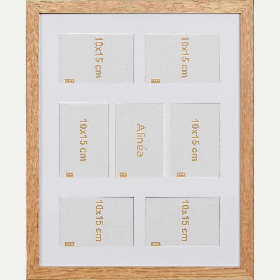 Cadre photo multivues en bois de chêne - 40x50cm-EMBRUN